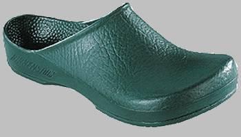 67050-45 Arbeitsschuh PU Clogs KLASSIK BIRKI Antistatik, Grün, Größe 45