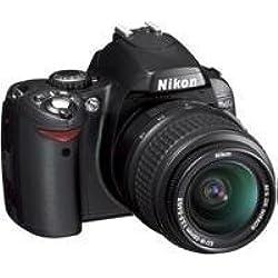 Nikon D40 Appareil photo numérique Reflex 6.1 Kit Objectif AF-S DX 18-55 mm Noir