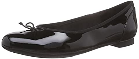 Clarks Couture Bloom, Mocassins (loafers) femme, Noir (black Patent), 35.5