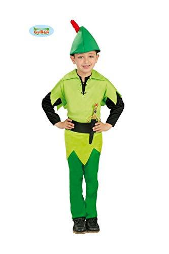 Guirca Bogenschütze Kostüm für Jungen Gr. 98-134, ()