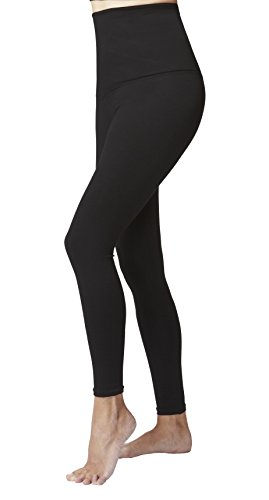 womens-ladies-tummy-control-with-figure-firming-slimming-compression-sport-high-waisted-plain-gym-le