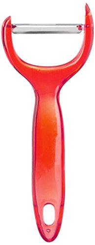 Hopesun Plastic Peeler, Blue/Red