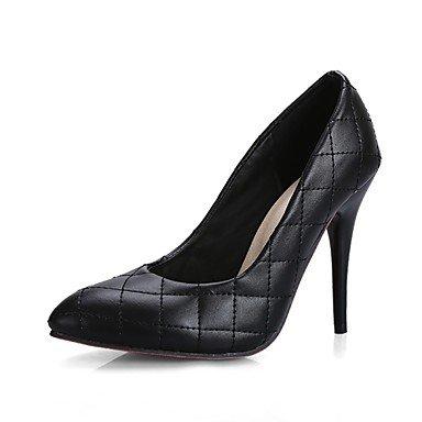 Zormey Women'S Shoes Stiletto Heel/Schuhe Heels Party & Amp Abend-/Kleid Schwarz/Wei? US5.5 / EU36 / UK3.5 / CN35