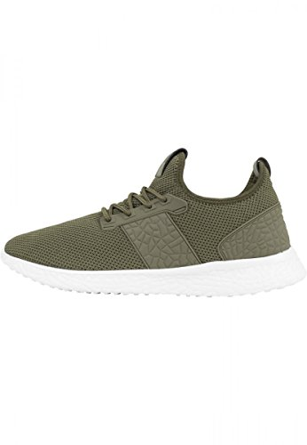 Urban Classics Advanced Light Runner Shoe Sneaker schwarz/schwarz Olive