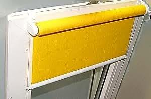 Rollo - Montage ohne Werkzeug! Maßanfertigung! lichtdurchlässig  Breite 110cm bis 119cm x Länge 160cm