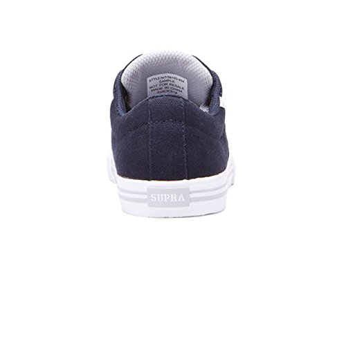 Supra - Ellington, Sneaker basse Uomo Navy/Light Grey/White