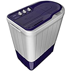 Whirlpool 6 kg Semi-Automatic Top Loading Washing Machine (Superb Atom 60I, Purple)