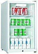 Exquisit BC1-10 Kühlschrank / 313.9 kWh/Jahr / 115 Liter Kühlteil / 84 cm Höhe / weiß