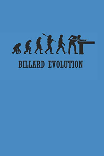 BILLARD EVOLUTION: Billard Notizbuch Billiard Notebook Pool Planer Snooker Bullet Journal 6x9 Punkteraster