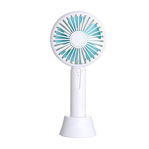 HuaCat USB Ventilateur de Bureau Silencieux Portable Mini Fan,Portatif Ventilateur de Petit Portatif