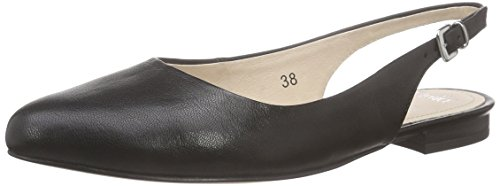 Caprice 29402 Damen Slingback Ballerinas Schwarz (BLACK NAPPA 022)