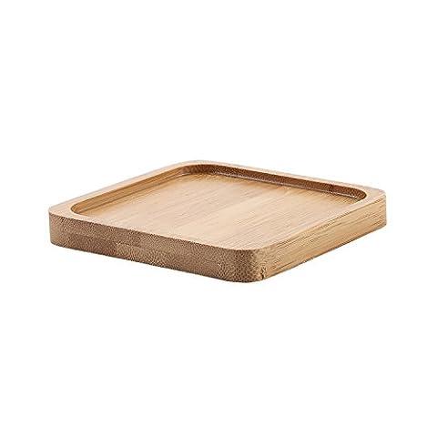 T4U 8.3CM Square Bamboo Tray Sandy beige