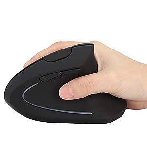 Wendry Ergonomische Maus, drahtlose vertikale Maus, 6D Ergonomische vertikale drahtlose Bluetooth-Maus Mäuse für Computer-PC
