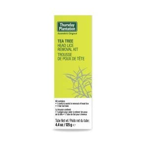 Thursday Plantation Natural Head Lice Kit Tea Tree 125g