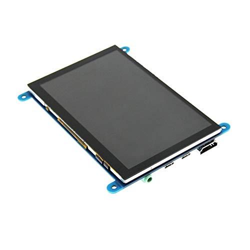 HermosaUKnight 3,5-Zoll-Display Einstellbare Auflösung 480 × 320 1920 × 1080 Audioausgang Schwarz Ausgang Display