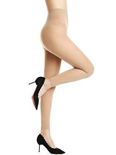 AMORETU Damen Blickdichte Strumpfhose Leggings Einheitsgröße
