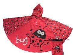 Bugzz Kids Stuff Rain Ponchos