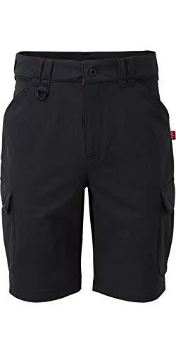 Gill Herren UV Tec Pro Segeln Bootfahren Wassersport Shorts Graphite UV013 - Leichter Stretch UV Sonnenschutz und SPF Eigenschaften