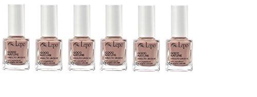 lepo-6-confezioni-di-smalto-good-nature-n51-rosa-antico-massima-resistenza-e-lucentezza