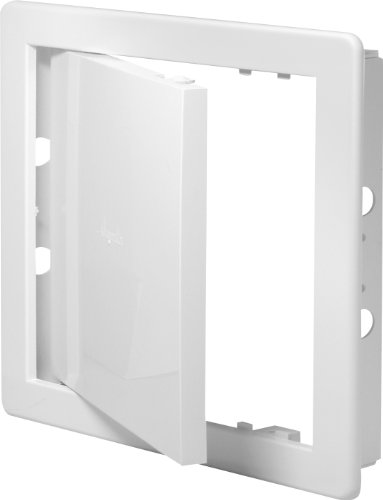 Revisionsklappe weiß 20 x 20 cm ABS Kunststoff 200 x 200 mm Revisionstür Revision Wartungstür Wartung Reinigungsklappe Wartungsöffnung DT 12