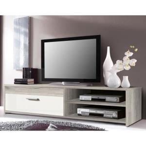 katso-meuble-tv-120-cm-chene-blanc-brillant