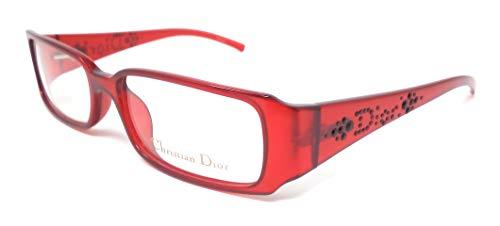 Christian Dior Damen Brillengestell Rot rot 52