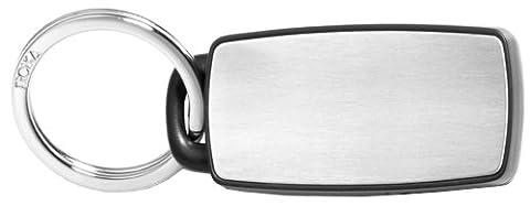 Troika Schlüsselanhänger, Silberfarben / Schwarz (schwarz) - KYR11-E000