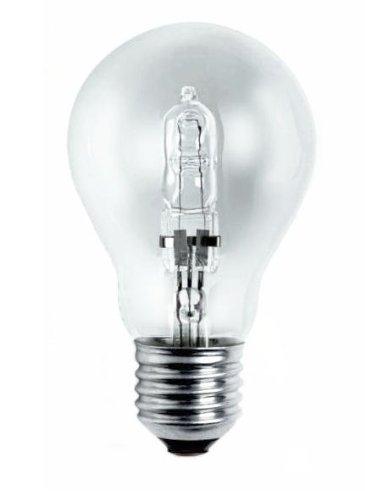 Silver Lampe de Sol Halogène Eco 42W E-27