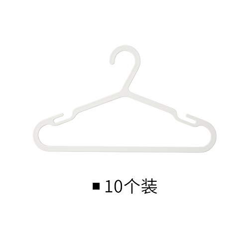 AAPP SHOP Kinder Trockenständer Baby Kleider Schrank Unterstützung Kleiderbügel 10 Packungen