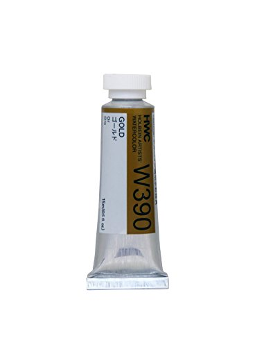 Holbein Artists Watercolor - Aquarellfarbe - 15 ml - Gold