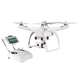 UPair one Drohne mit 2.7K Plus Kamera 2.4G Fernsteuerung FPV live übertragung RC Quadcopter with IOS APP Control,Follow Me Modus,Headless Modus,Home Return
