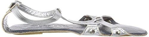 Lise Lindvig Fia Damen Slingback Mehrfarbig (Silver/blue)