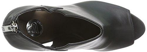 Bullboxer - 132505f3s, Sandali punta aperta Donna Nero (Schwarz (BLCK))