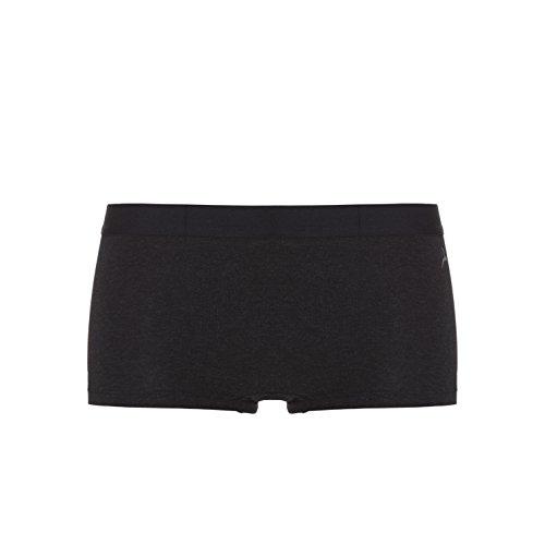 Ten Cate Damen Hipster - Shorts FINE 2-Pack - Mieder-Hose aus luxuriösem Stoff Black melee
