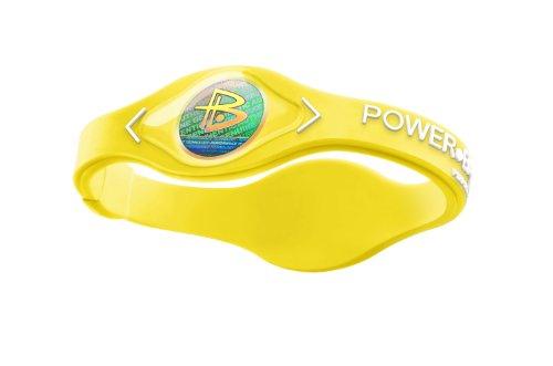 Power Balance / GWSA09BK00WTLP Bracelet silicone Néon Jaune Blanc