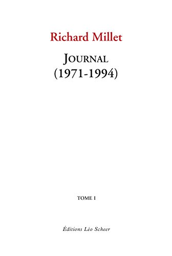 Journal : Tome 1, 1971-1994