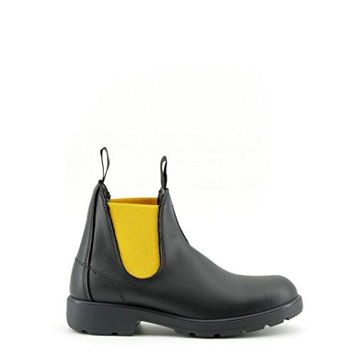 Made in Italia Damen Shoes Chelsea Boots Nero/Giallo 36 EU -