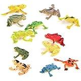 Jellbaby Los animales marinos plástico ordinario modelo animal juguetes juguetes de simulación (rana)