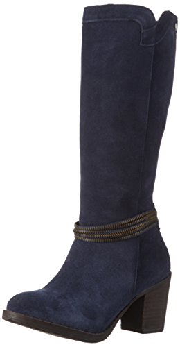 XTI 65208, Stivali alti con imbottitura leggera Donna, Blu (navy), 38 EU