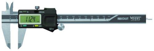 Vogel 202151Elektronischer digitaler Messschieber Absolute 200mm DIN 876 -