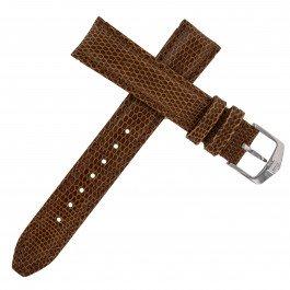 Tag Heuer 18–16mm braun Eidechse Leder Armbanduhr Band W. Schnalle