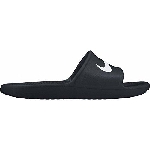 Nike Herren Kawa Shower Dusch-& Badeschuhe Schwarz / Weiß