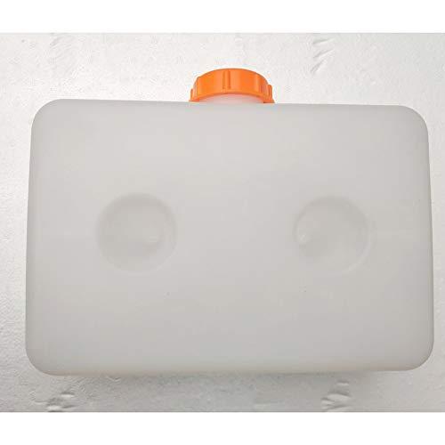Tanque gasolina aceite combustible plástico universal