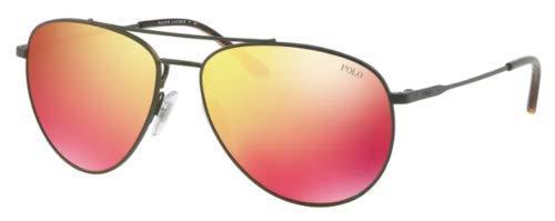 Polo Ralph Lauren Herren 0Ph3111 90056Q 59 Sonnenbrille, Grün (Matteive/Orange),