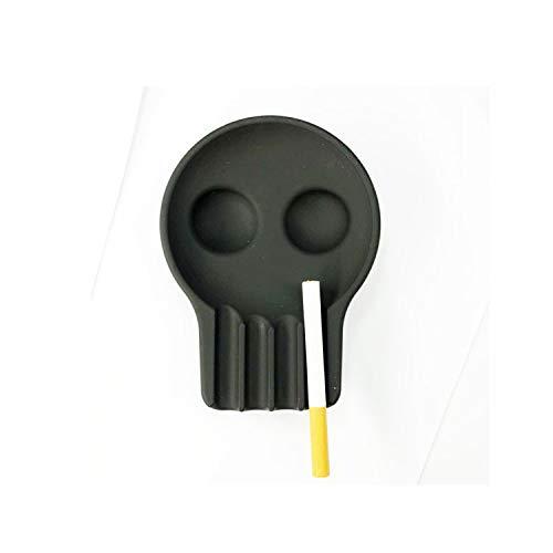 Gfjfd posacenere testa di teschio posacenere portatile soft di silicone outdoor