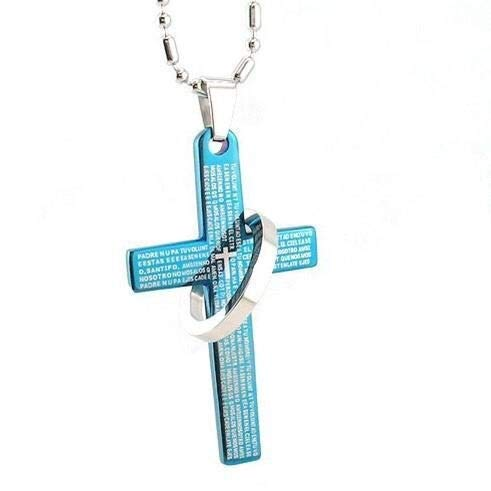 wnwl Schmuck Christian Cross Halskette Mit Emanuel Anhänger Jesus