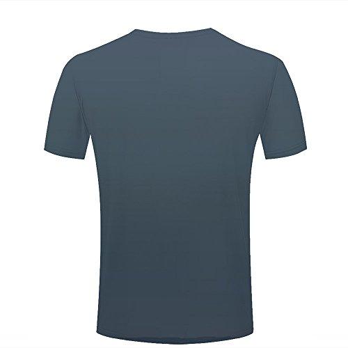 qianyishop 3d Print T Shirts Rainy Night and Wet Spider Web Graphics Men Women Couple Fashion Tees A