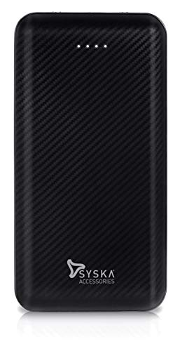 Syska Power Core 200 20000 mAh Lithium Polymer Black