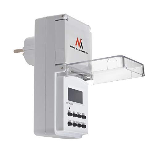 Maclean mce08g Digital Timer per Esterni con 10programm
