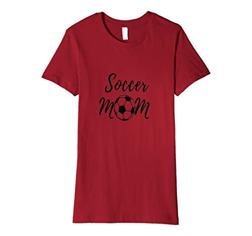 Damen Fußball-Mama, Soccer Mom Shirt, Fußball-Shirt, Sport-Shirt, - Soccer Mom